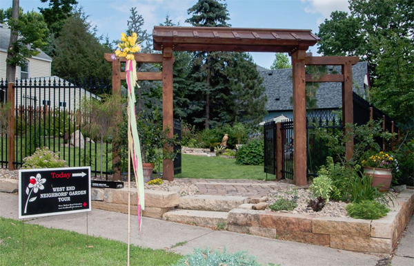 West End Neighbors' Garden Tour 2015 of Saint Paul